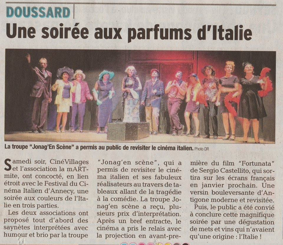 Soiree italienne_article