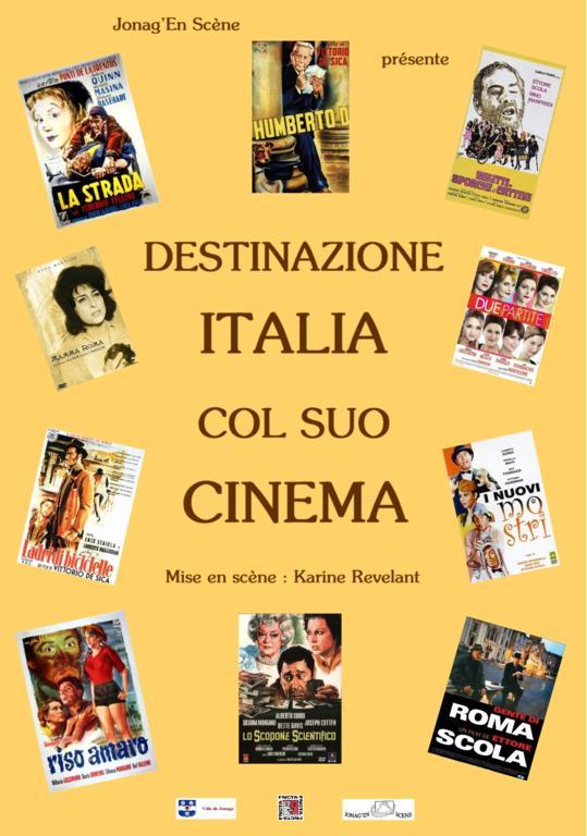 Destinazione italia col suo cinema